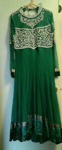 GREEN ANARKALI SUIT