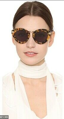 Karen Walker Lunar Flowerpatch Sunglasses   Tortoise Shell, Cat Eye, $350 RRP