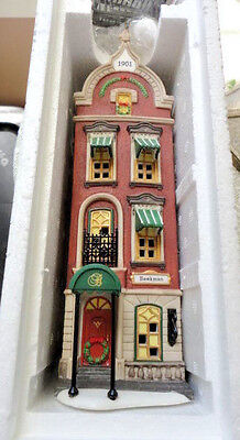 Dept 56 CIC BEEKMAN HOUSE Hand Painted Porcelain 58878 NIB RETIRED