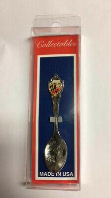 Vintage souvenir teaspoon Vintage Washington teaspoon USA small souvenir spoon Collectible spoon