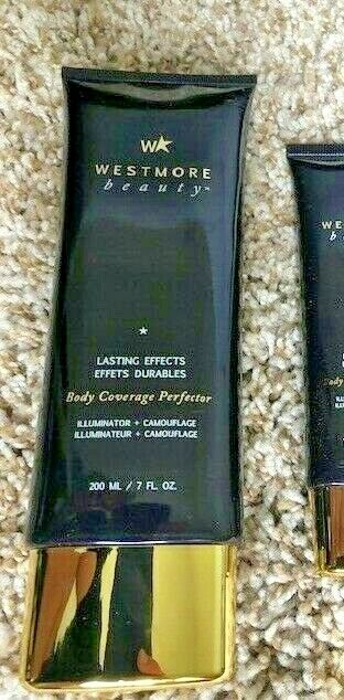 Westmore Beauty Lasting Effects Body Coverage Perfector Select Shade 7 oz!!