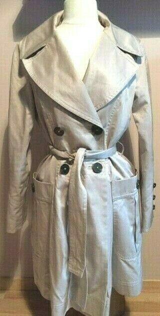 Zara - trench imperméable beige - taille 36/38 - tbe !!!