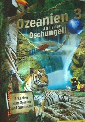 Netto Ozeanien 3  - Sammelalbum mit allen 108 Karten