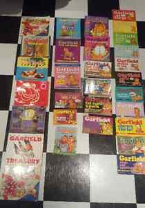 Huge collection 30 Garfield books individual or lot