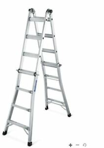 Aluminium 17 foot multitask ladder, brand new (unopened)