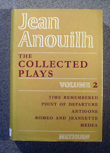 Jean-Anouilh-The-Collected-Plays-Volume-2-1967-Methuen-1st-Ed-HB-DJ-VGC