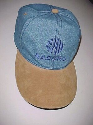 Nabors Industries Nbr Drilling Adult Unisex Blue Brown Baseball Cap One Size