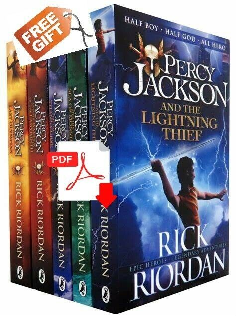 Percy Jackson and the Olympians Series +Gift by Rick Riordan [ E-ß00K , PÐF ]
