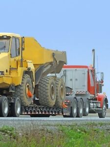 Heavy equipment shipping and transportation