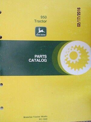 John Deere 950 Tractor Parts Manual Catalog Book Factory Original