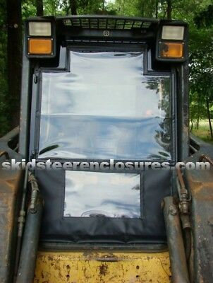 Cab Enclosure Kit Door New Holland Skid Steer Ls160 Ls170 Ls180 Ls185 Ls190