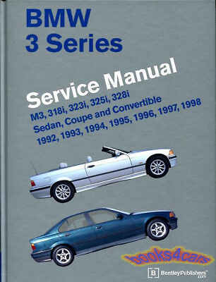 SHOP MANUAL SERVICE REPAIR BMW BENTLEY E36 BOOK, used for sale  Seattle