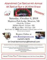Event:  Abandoned Cat Rescue Race