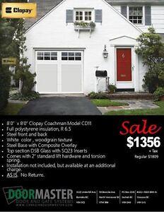 Garage Door Sale! 8' x 8'