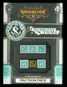 Warmachine Faction Dice Set Retribution of Scyrah