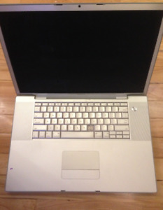 Macbook Pro 17inch LCD screen complete display A1261 MB166LL/A +