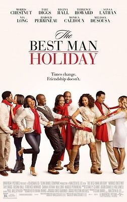 BEST MAN HOLIDAY - 2013 - orig 27x40 movie poster - TERRENCE HOWARD, TAYE (Terrence Howard Best Man Holiday)