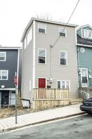Great 2 bedroom semi-detached row house for rent downtown.
