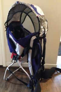 Kelty Journey PerfectFit Child Carrier Backpack w Sunshade