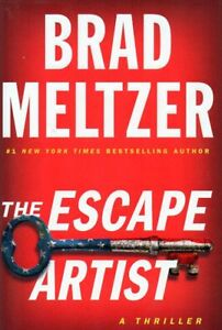 THE ESCAPE ARTIST BY BRAD MELTZER LATEST THRILLER NEW SAVE $27!