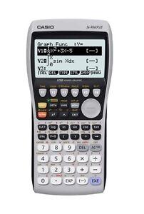 Casio fx-9860GII Advanced Graphic Calculator + USB Cable - A-level & IB Maths