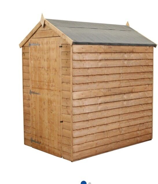 garden shed 6ft x4ft brand new