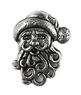 Santa Lapel Pin - Christmas - Tie Tack - Gift Idea - Handmade - Gift Box