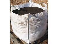 Brown top soil