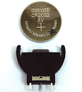 8-x-MAXELL-CMOS-BIOS-BATTERY-CR2032-3V-VERTICAL-HOLDER-MOTHERBOARD-PC-LAPTOP