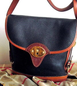 AUTHENTIC PRE OWNED DOONEY & BOURKE VINTAGE CROSS BODY BAG /USA