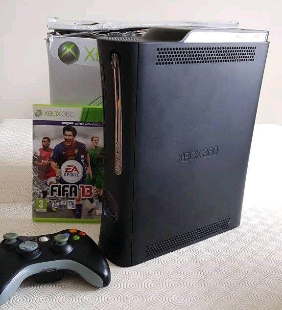 Xbox 360 Elite console (matt black)120GB hard drive