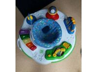 Leapfrog Learn and Groove Activity Station Sit in Bouncer
