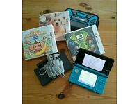 Nintendo 3ds and games bundle