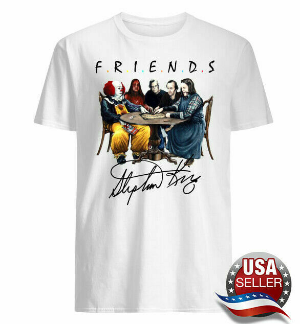 Stephen King T-Shirt HORROR FRIENDS Shirt character HORROR T