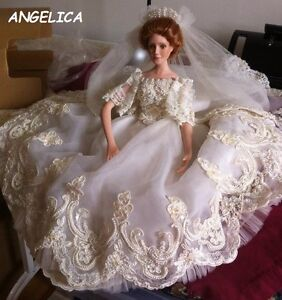 DOLL-ANGELICA--ASHTON DRAKE GALLERIES-PORCELAN