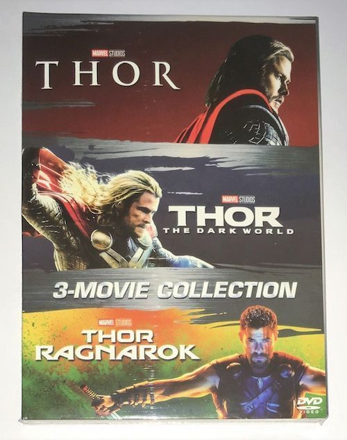 THOR 3 Film Movie Collection DVD Box Set 1-3 Trilogy New & S