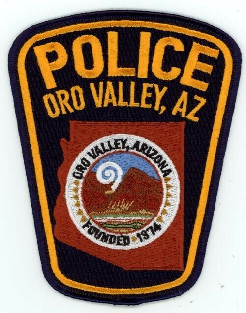 ORO VALLEY ARIZONA AZ POLICE COLORFUL PATCH SHERIFF