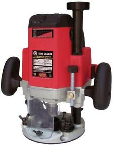Brand New 3 1/4 HP Variable Speed Plunge Router