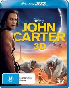 John Carter (Blu-ray, 2013) New & Sealed