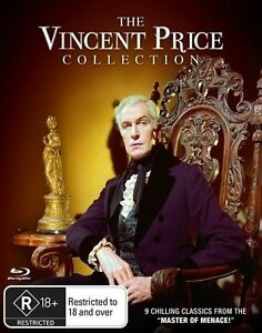 VINCENT PRICE - THE COLLECTION - 9 FILMS (7 BLU-RAY SET) BRAND NEW!!! SEALED!!!