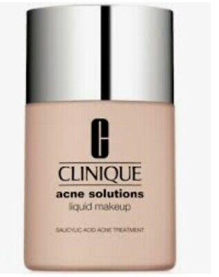 Clinique Acne Solutions Liquid Makeup 01 Fresh Alabaster (VF) 1oz/30ml