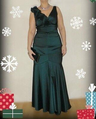 Meerjungfrau Kleid Abendkleid von Mariposa Gr 40 Lang Maxi -