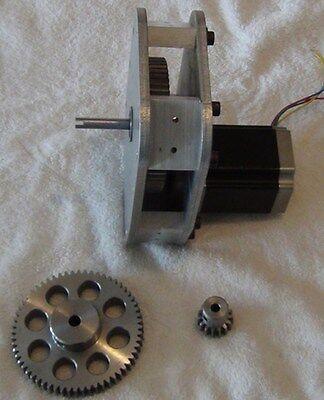 Nema 23 Reducer Gear 4 To 1 Rack Pinion Cnc Router Plasma Laser Lathe