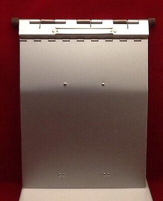 Lot Of 6 Pro-file Vintage Stainless Steel Medical Clip Board Chart Holder