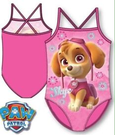 Girls paw patrol swimming costume