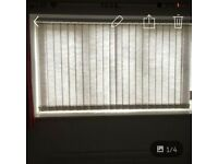 **Free** vertical blinds