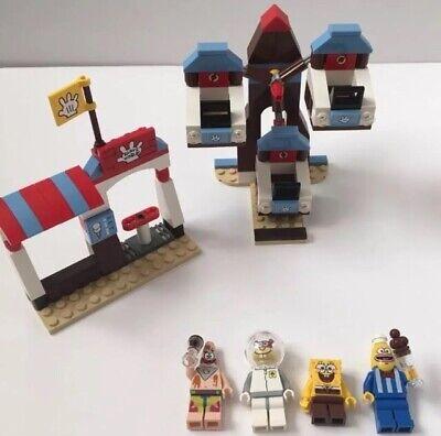 Lego Spongebob Squarepants 3816 Glove World Building Toy Set Minifigures Manual