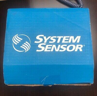 New System Sensor Spsrl Fire Alarm Speakerstrobe Wall Red.