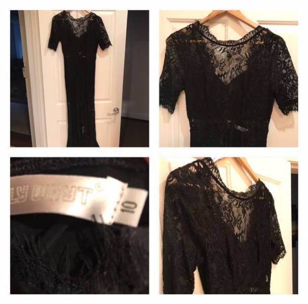 Lily Whyt black lace dress | Buy My Clothes