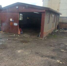 Garage To Rent Just Off Wishaw Town Centre